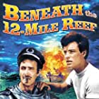 Robert Wagner and Gilbert Roland in Beneath the 12-Mile Reef (1953)
