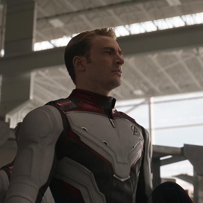 Chris Evans and Karen Gillan in Avengers: Endgame (2019)