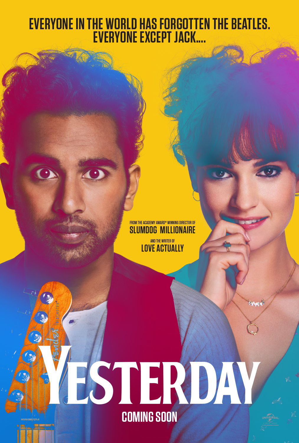 Image result for yesterday movie poster