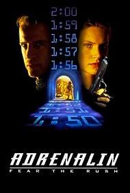 Natasha Henstridge and Christopher Lambert in Adrenalin: Fear the Rush (1996)