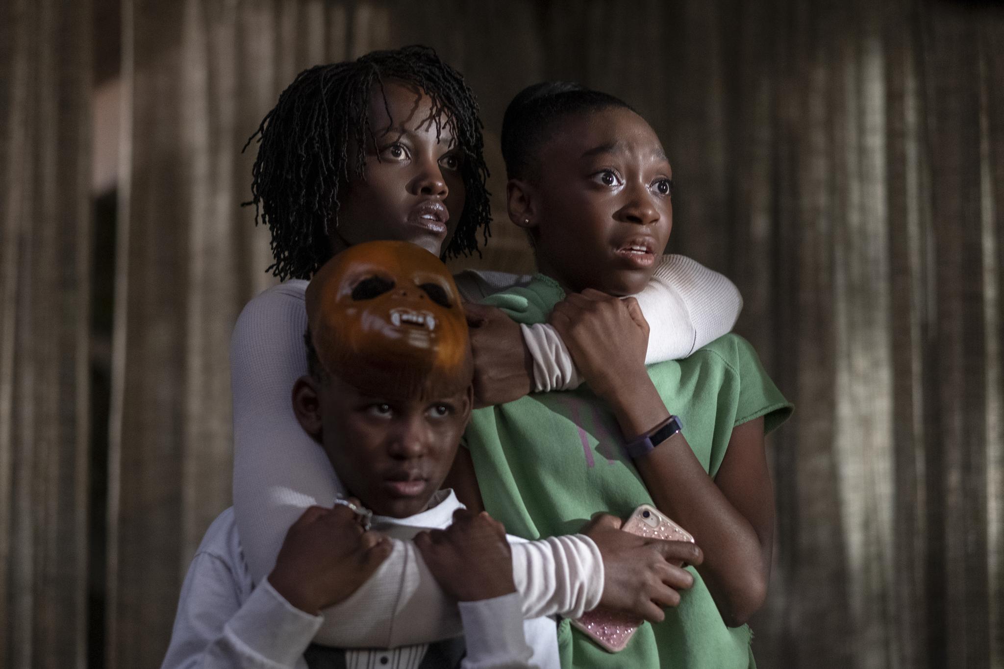 Lupita Nyong'o, Evan Alex, and Shahadi Wright Joseph in Us (2019)