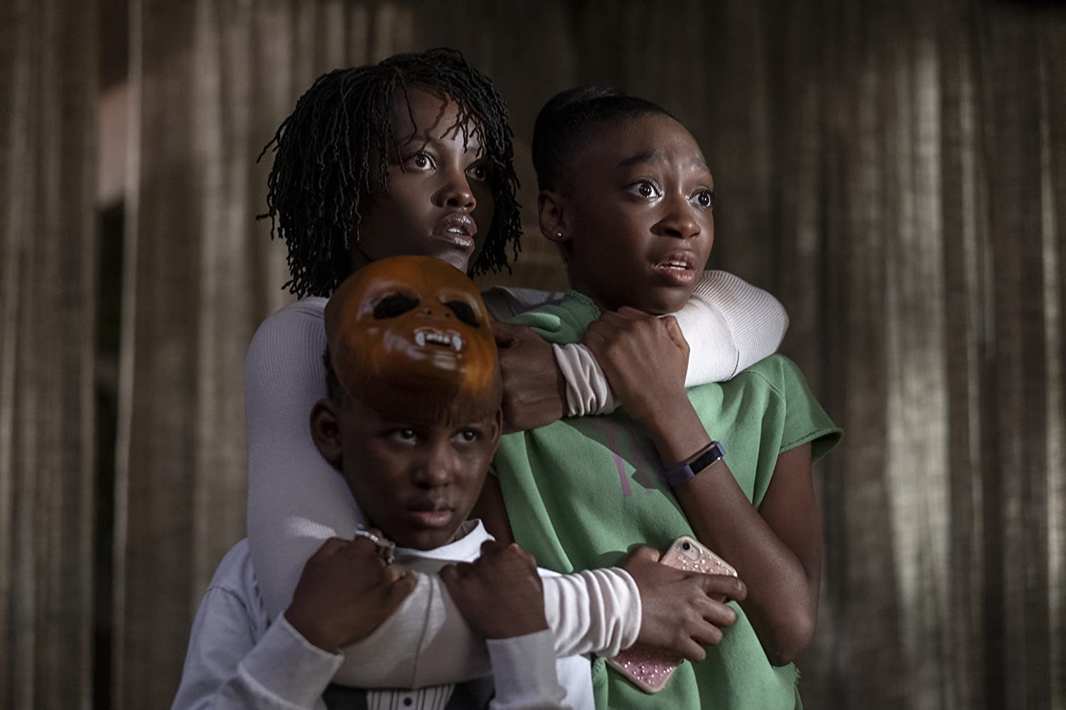 Lupita Nyong'o, Evan Alex, and Shahadi Wright Joseph in Us (2019)