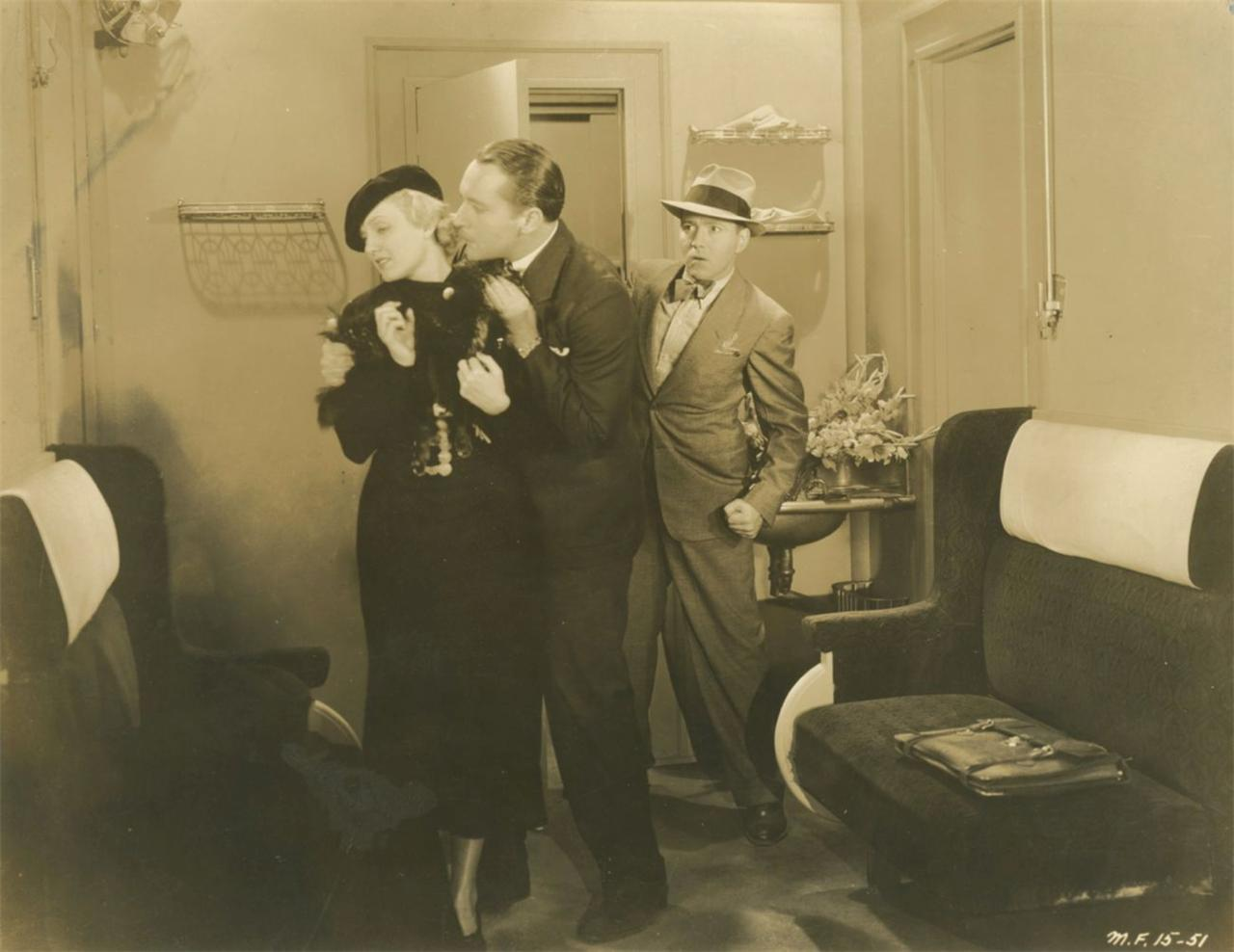 Paul Porcasi, Peggy Shannon, and Ray Walker in The Devil's Mate (1933)