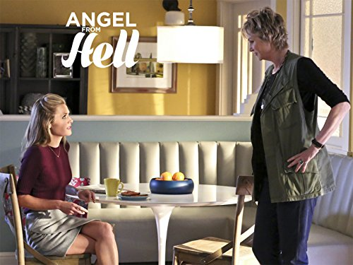 Maggie Lawson and Jane Lynch in Angel from Hell (2016)