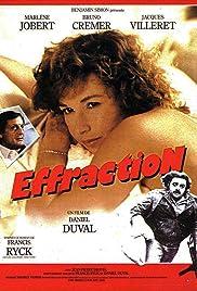 Effraction Poster