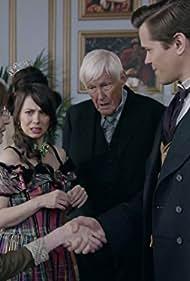 Orson Bean, Andrew Rannells, Lauren Flans, and Natasha Leggero in Another Period (2013)
