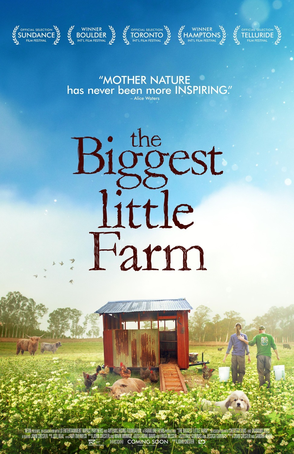 Image result for the biggest little farm, movie poster