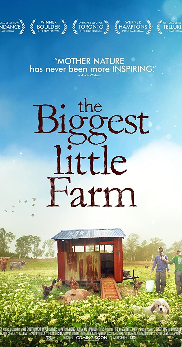 Subtitle of The Biggest Little Farm