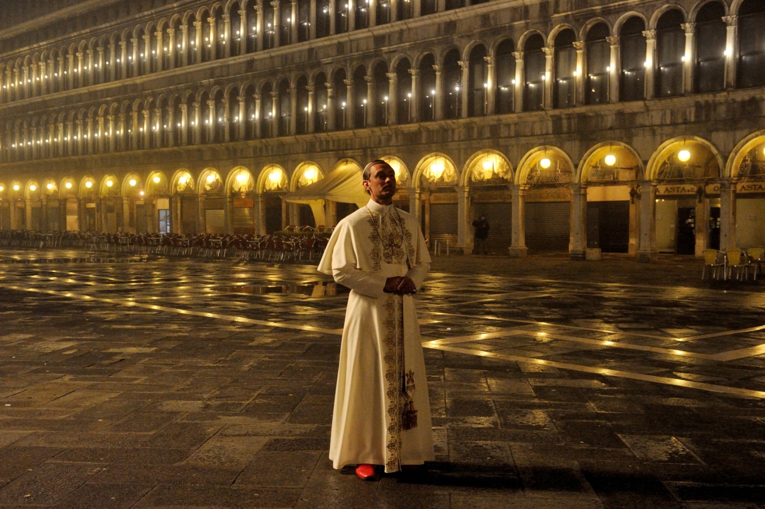 Jude Law in The Young Pope (2016)
