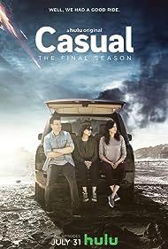 Michaela Watkins, Tommy Dewey, and Tara Lynne Barr in Casual (2015)