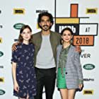 Nazanin Boniadi, Dev Patel, and Tilda Cobham-Hervey at an event for Hotel Mumbai (2018)