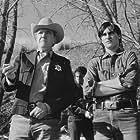 Joaquin Phoenix and Scott Wilson in Clay Pigeons (1998)