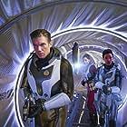 Anson Mount, Rachael Ancheril, and Sonequa Martin-Green in Star Trek: Discovery (2017)