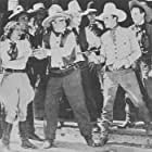 Myrla Bratton, William Desmond, Art Mix, Bobby Nelson, Bill Patton, James Sheridan, and Hal Taliaferro in The Way of the West (1934)