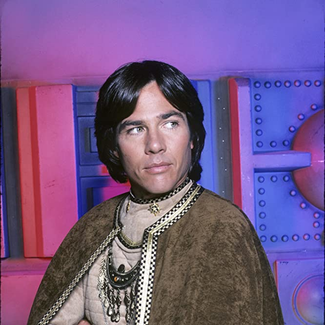 Richard Hatch in Battlestar Galactica (1978)