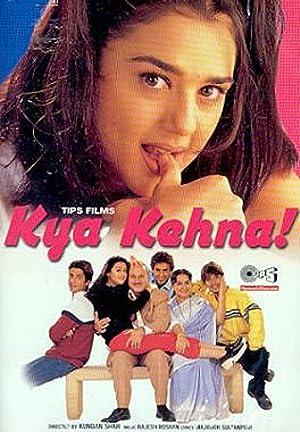 Honey Irani (screenplay) Kya Kehna Movie