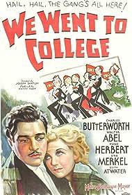Walter Abel and Una Merkel in We Went to College (1936)