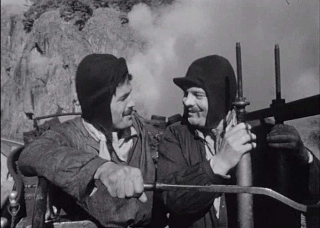 Hervé Sand and Jacques Santi in La princesse du rail (1967)