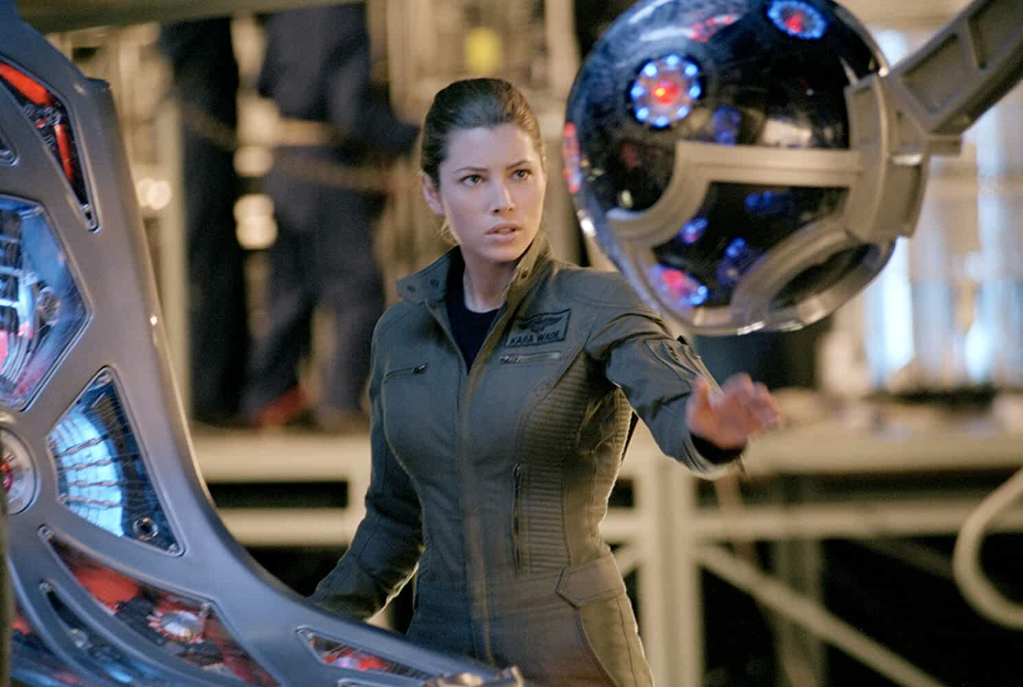 Jessica Biel in Stealth (2005)