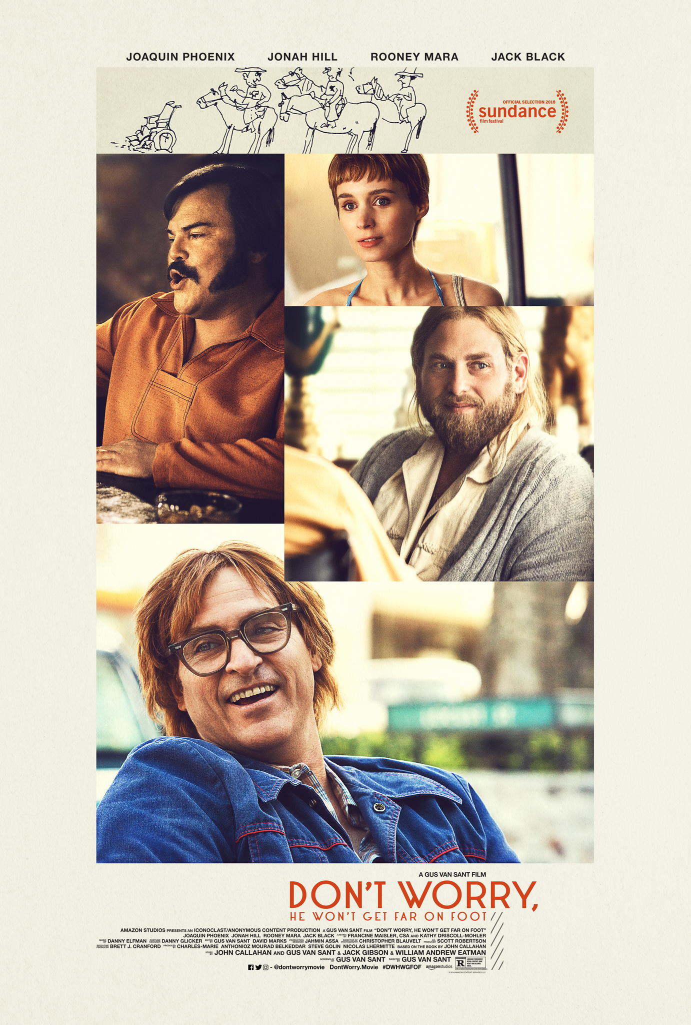 Don't Worry, He Won't Get Far on Foot (2018) | DVDRip Latino HD GoogleDrive 1 Link