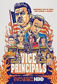 Dale Dickey, Walton Goggins, Edi Patterson, Danny McBride, Georgia King, Kimberly Hebert Gregory, and Sheaun McKinney in Vice Principals (2016)