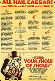 Ten from Your Show of Shows (1973) Poster - Movie Forum, Cast, Reviews