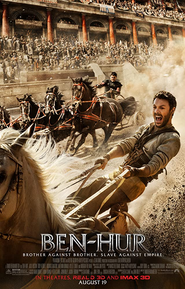 Toby Kebbell and Jack Huston in Ben-Hur (2016)