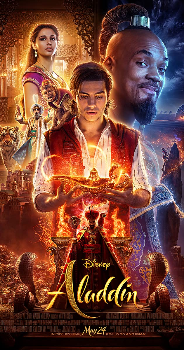 Image result for aladdin poster 2019