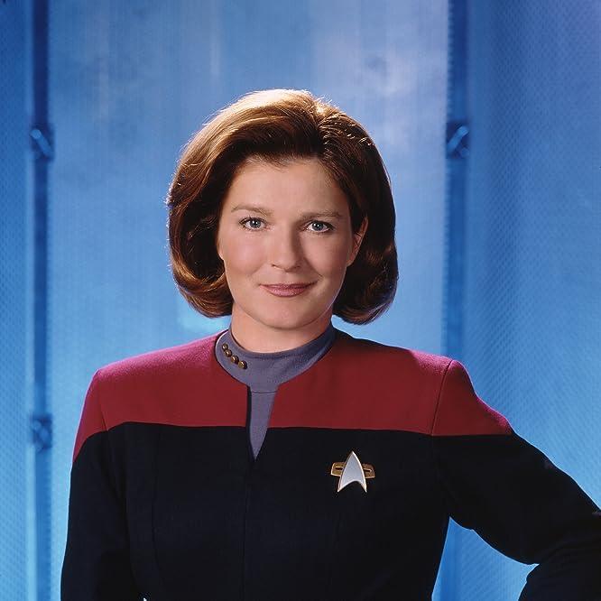 Kate Mulgrew in Star Trek: Voyager (1995)