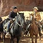 Richard Widmark, Mike Mazurki, and George O'Brien in Cheyenne Autumn (1964)