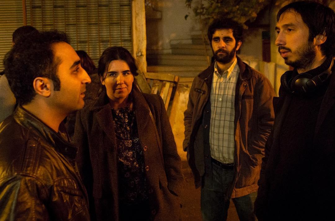 Erol Afsin, Ali Vatansever, Onur Buldu, and Ümmü Putgül in Saf (2018)