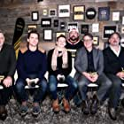Bill Pullman, Kevin Smith, Matt Bomer, Alex Smith, Andrew J. Smith, and Josh Wiggins at an event for Walking Out (2017)