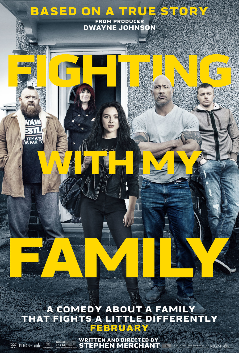 Šeimos kova (2019) / FIGHTING WITH MY FAMILY (2019)