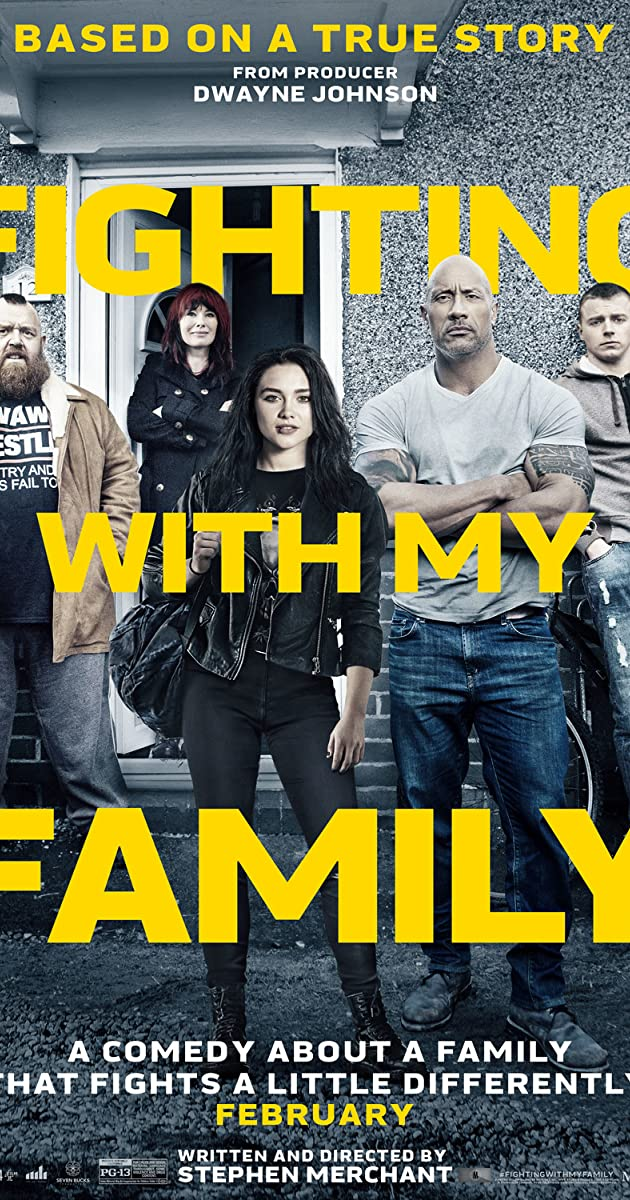 Play or Watch Movies for free Fighting with My Family (2019)