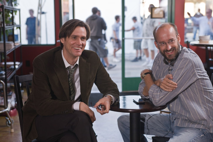 Jim Carrey and Peyton Reed in Yes Man (2008)