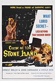 Curse of the Stone Hand (1965) Poster - Movie Forum, Cast, Reviews