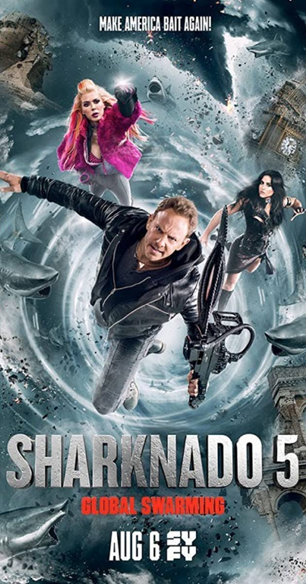 Subtitle of Sharknado 5: Global Swarming