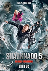 Watch it movie links Sharknado 5: Global Swarming [BRRip]