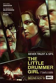 Alexander Skarsgård, Michael Shannon, and Florence Pugh in The Little Drummer Girl (2018)