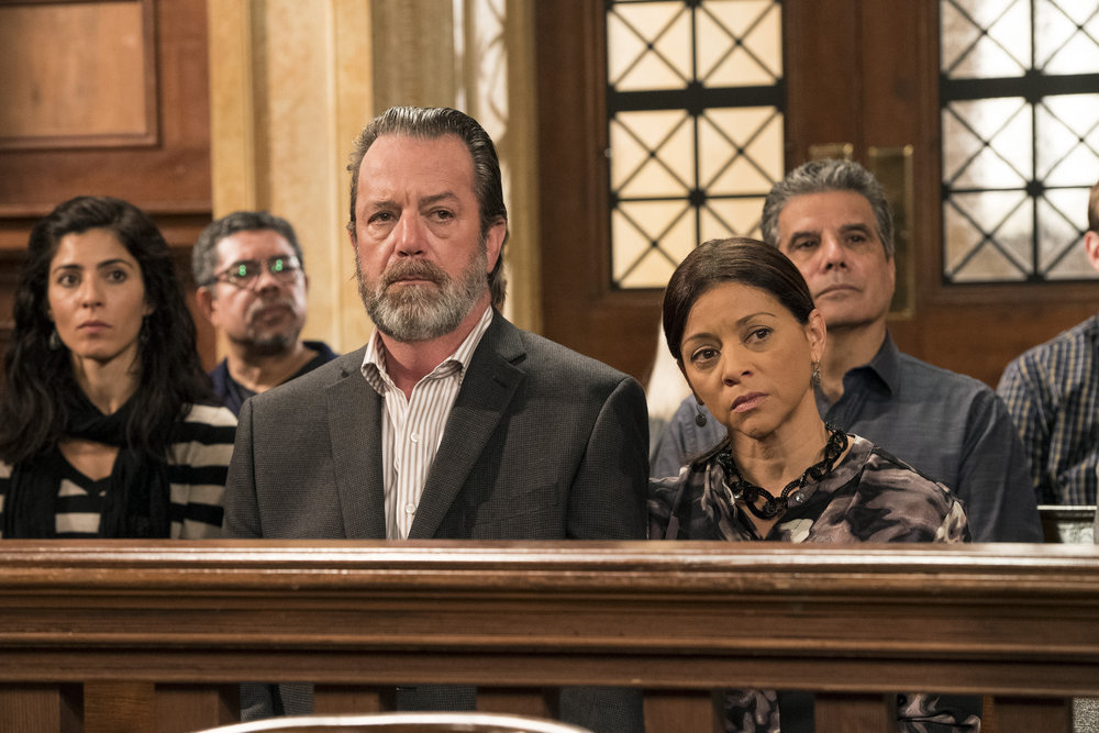 C. David Johnson and Jacqueline Torres in Law & Order: Special Victims Unit (1999)