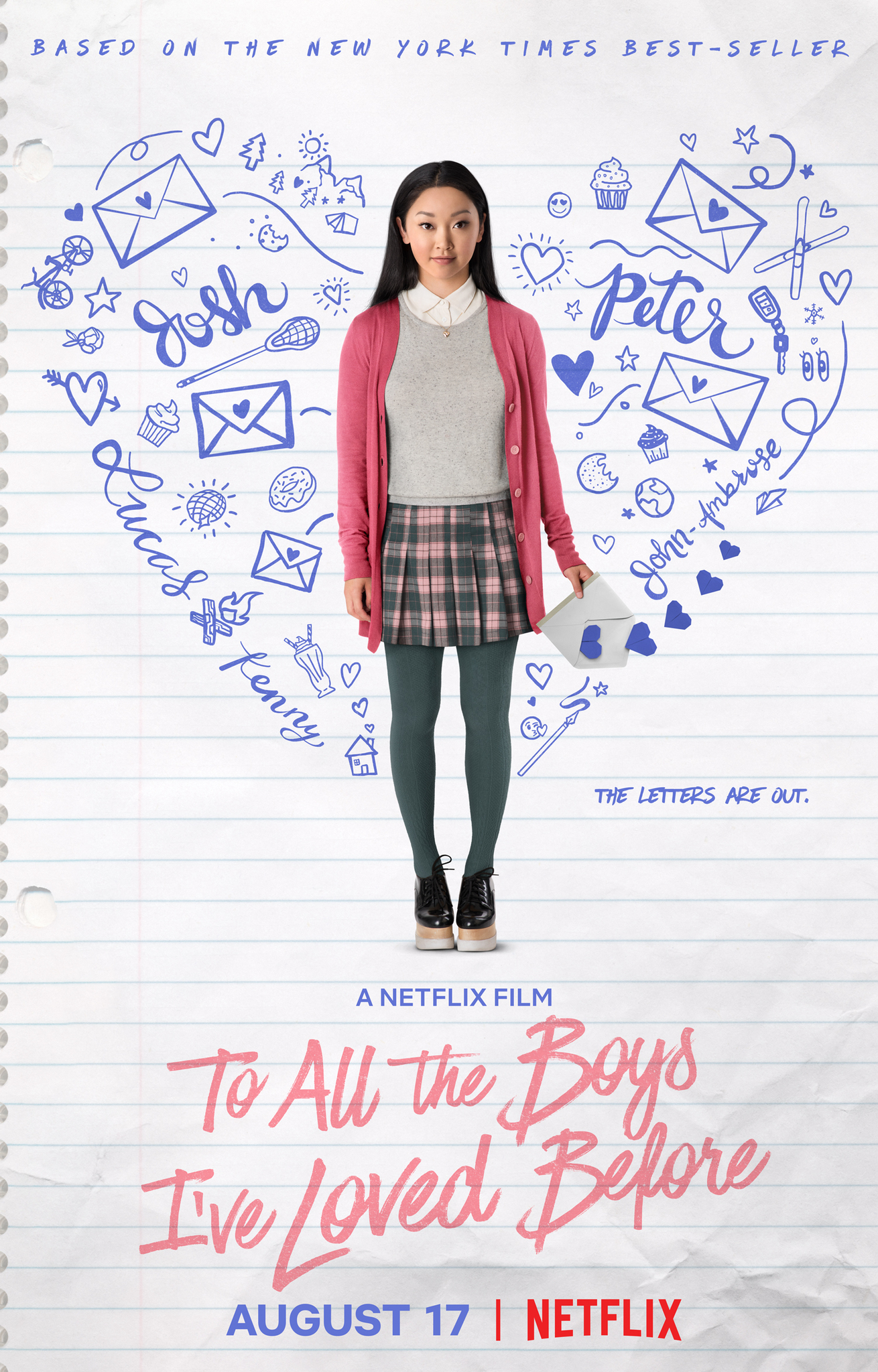Resultado de imagen para to all the boys i've loved before movie poster