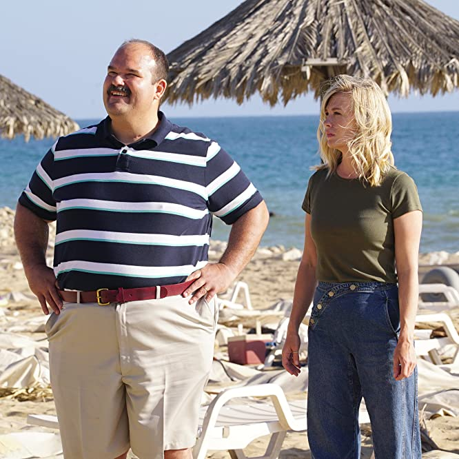 January Jones and Mel Rodriguez in The Last Man on Earth (2015)