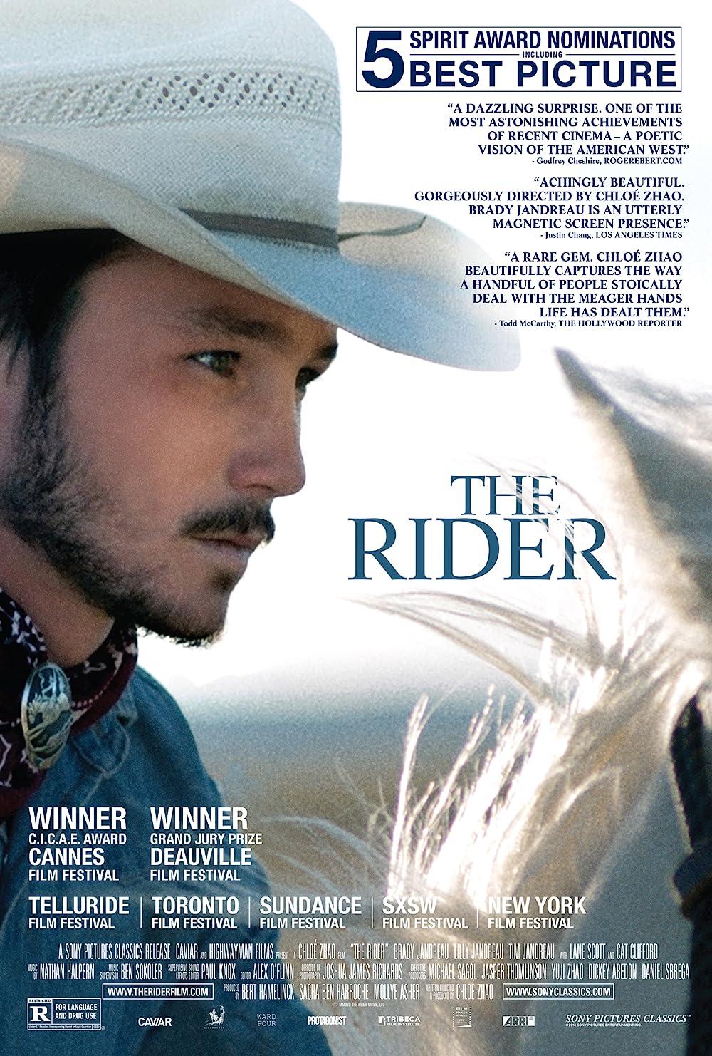 Brady Jandreau in The Rider (2017)