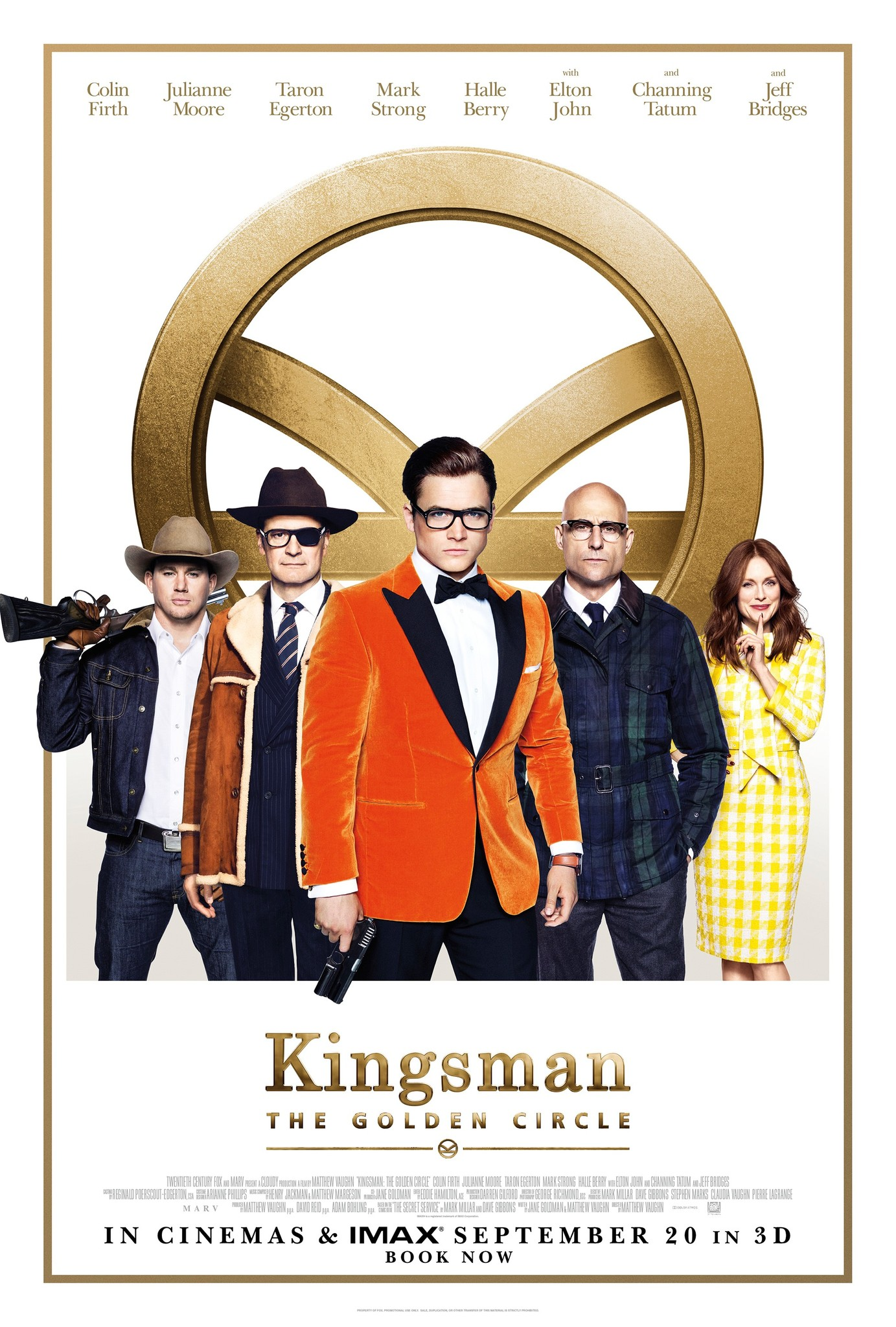 Image result for kingsman the golden circle movie poster