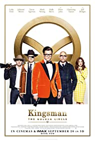 Colin Firth, Julianne Moore, Mark Strong, Channing Tatum, and Taron Egerton in Kingsman: The Golden Circle (2017)