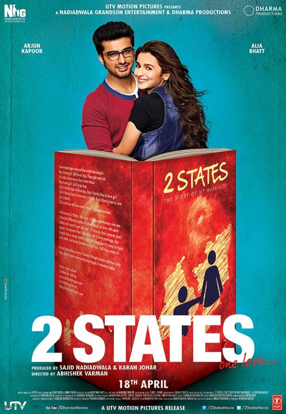 2 States (2014) Hindi Movie 1080p BluRay x264 AAC 1.7GB Download