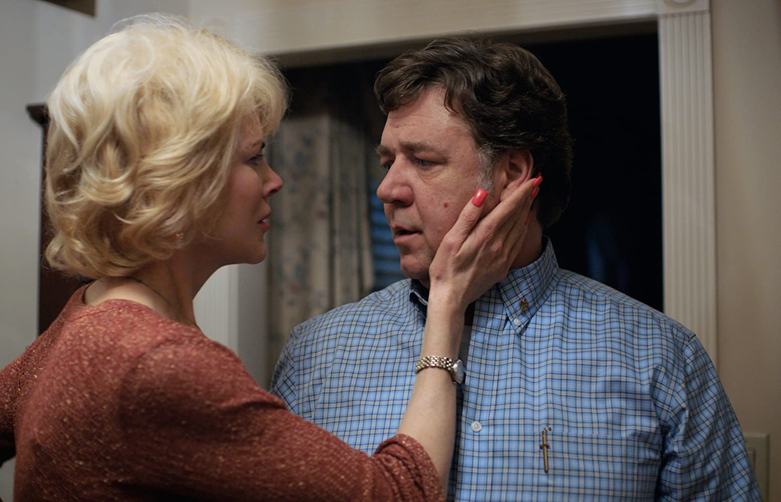 Russell Crowe and Nicole Kidman in Boy Erased (2018)