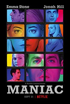 'Maniac' tells the stories of Annie Landsberg (Emma Stone) and Owen Milgrim (Jonah Hill), two strangers drawn to the late stages of a mysterious pharmaceutical trial, each for their own reasons. But things do not go as planned.