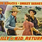 Roy Rogers, Lynne Roberts, and Edwin Stanley in Billy the Kid Returns (1938)