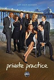 Amy Brenneman, Brian Benben, Benjamin Bratt, Taye Diggs, Kate Walsh, Paul Adelstein, Caterina Scorsone, and KaDee Strickland in Private Practice (2007)